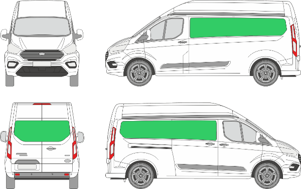 Ford Custom L2H2 (2018-2021)