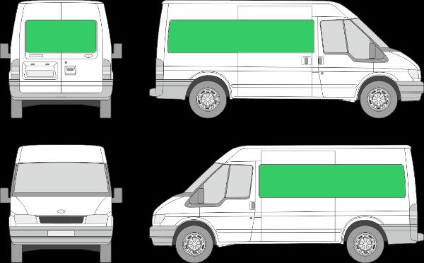 Ford Transit L2H2 (2000-2005)
