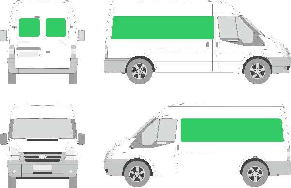 Ford Transit L2H2 (2006-2012)
