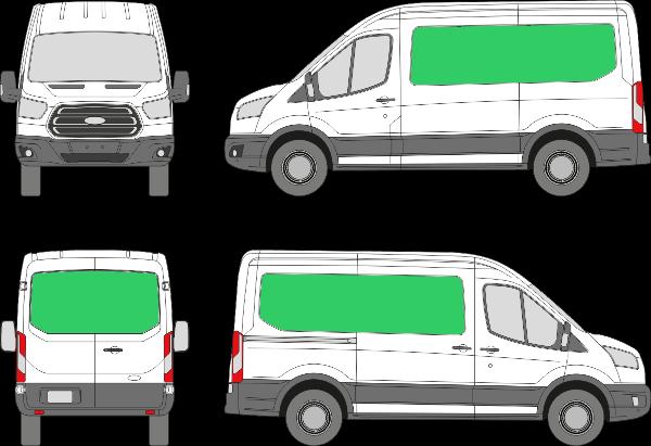Ford Transit L2H2 (2013-2021)