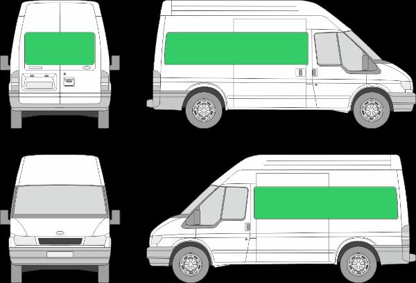 Ford Transit L2H3 (2000-2005)