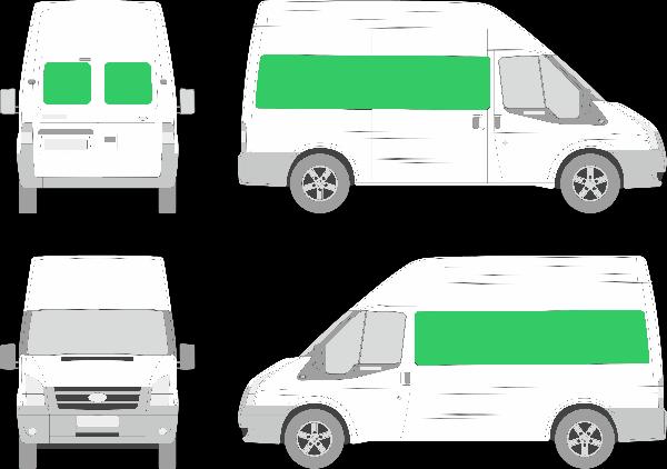 Ford Transit L2H3 (2006-2012)