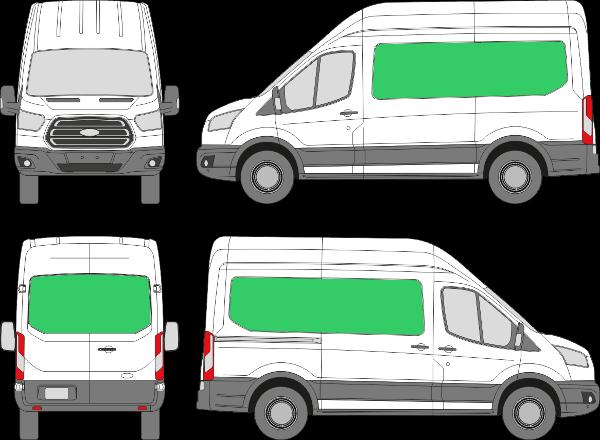 Ford Transit L2H3 (2013-2021)