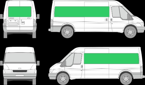 Ford Transit L3H2 (2000-2005)