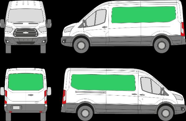 Ford Transit L3H2 (2013-2021)