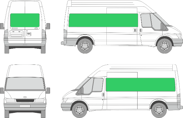 Ford Transit L3H3 (2000-2005)