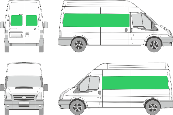 Ford Transit L3H3 (2006-2012)