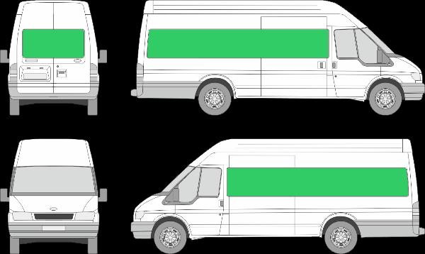 Ford Transit L4H3 (2000-2005)