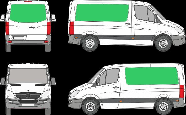 Mercedes Benz Sprinter L1H1 (2006-2017)