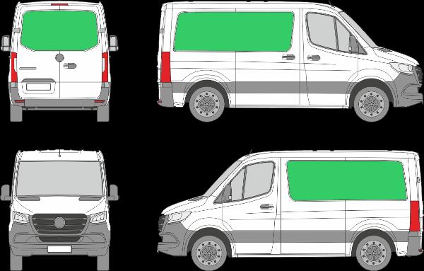 Mercedes Benz Sprinter L1H1 (2018-2021)