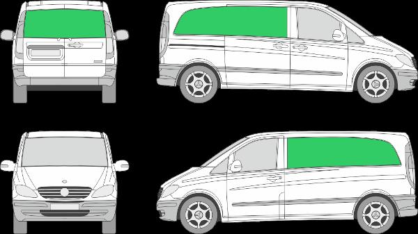 Mercedes Benz Vito L1H1 (2003-2009)