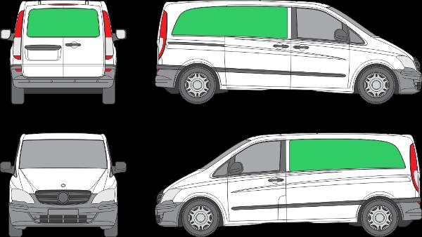 Mercedes Benz Vito L1H1 (2010-2013)