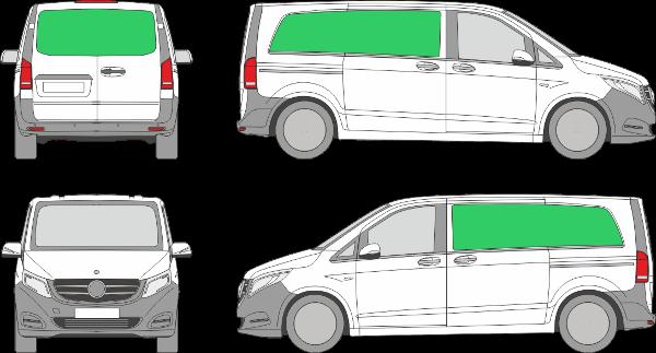 Mercedes Benz Vito L1H1 (2014-2021)