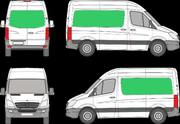 Mercedes Benz Sprinter L1H2 (2006-2017)