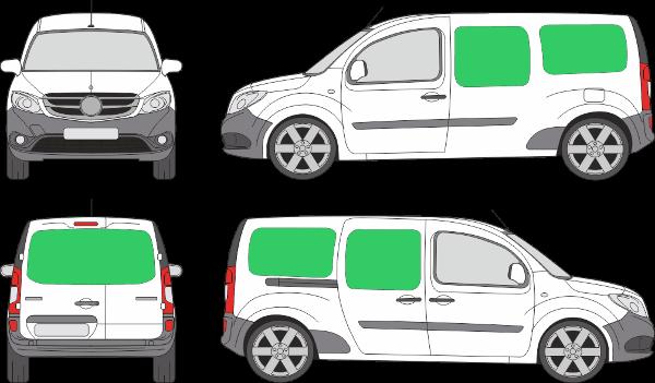 Mercedes Benz Citan L2H1 (2012-2021)