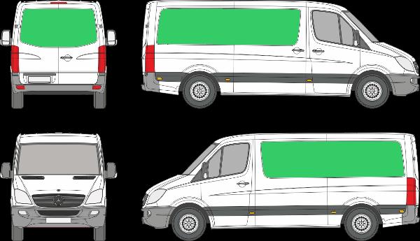 Mercedes Benz Sprinter L2H1 (2006-2017)