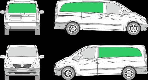 Mercedes Benz Vito L2H1 (2003-2009)