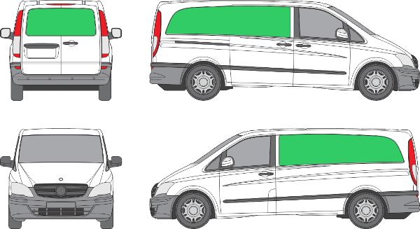 Mercedes Benz Vito L2H1 (2010-2013)