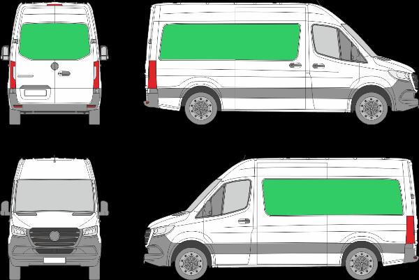 Mercedes Benz Sprinter L2H2 (2018-2021)