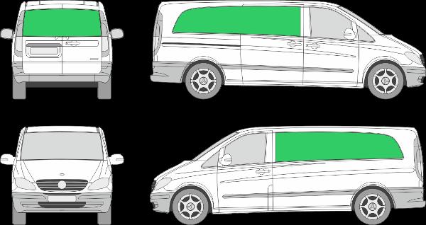 Mercedes Benz Vito L3H1 (2003-2009)