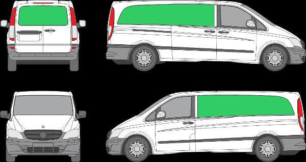 Mercedes Benz Vito L3H1 (2010-2013)