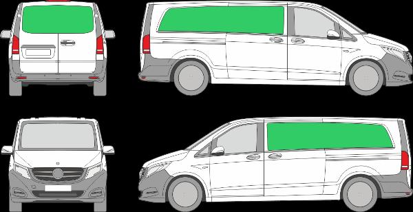 Mercedes Benz Vito L3H1 (2014-2021)