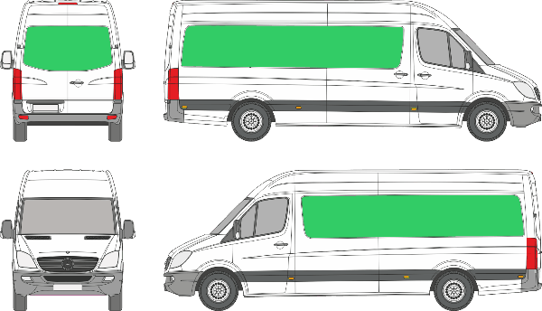 Mercedes Benz Sprinter L3H3 (2006-2017)