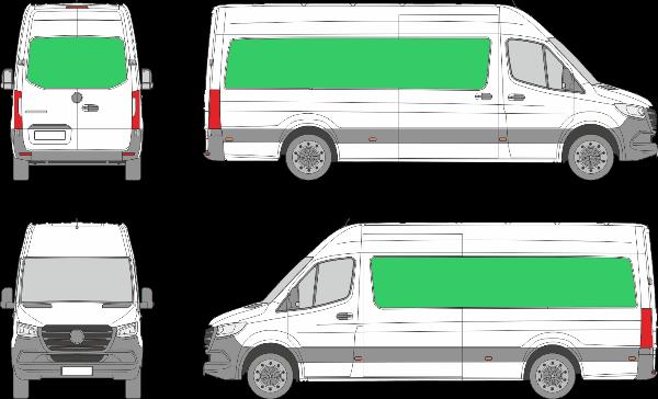 Mercedes Benz Sprinter L3H3 (2018-2021)