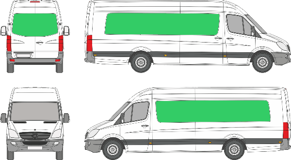 Mercedes Benz Sprinter L4H3 (2006-2017)