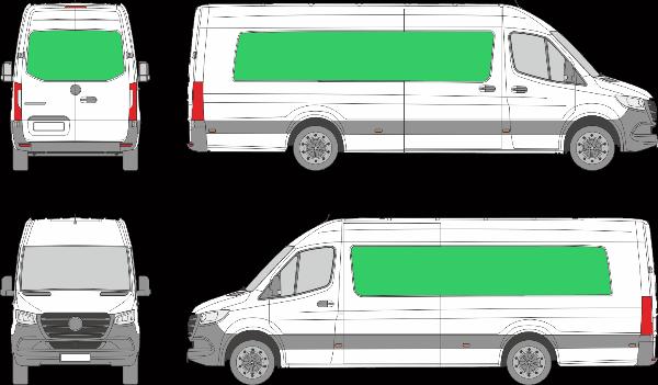 Mercedes Benz Sprinter L4H3 (2018-2021)