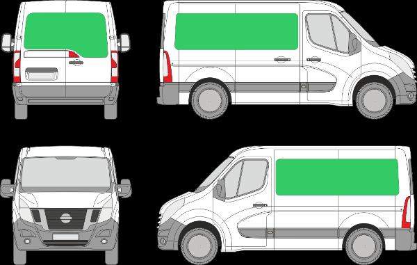 Nissan NV400 L1H1 (2010-2021)