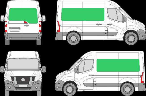 Nissan NV400 L1H2 (2010-2021)