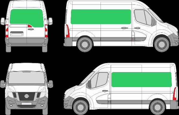 Nissan NV400 L2H1 (2010-2021)
