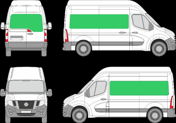 Nissan NV400 L2H2 (2010-2021)