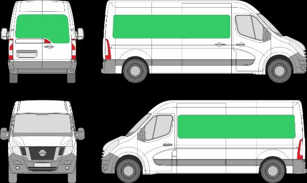 Nissan NV400 L3H1 (2010-2021)