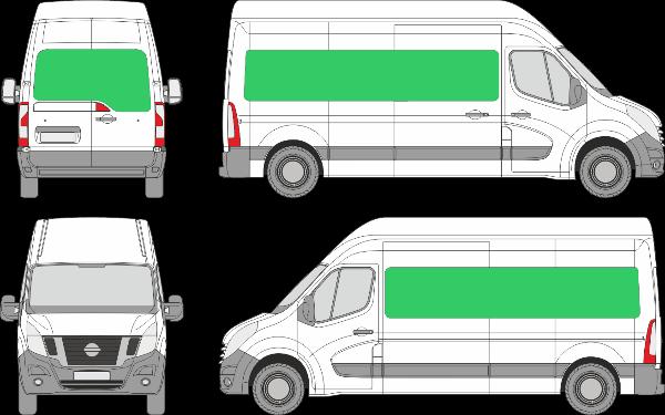 Nissan NV400 L3H2 (2010-2021)