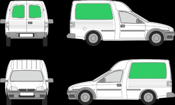 Opel Combo L1H1 (1986-2000)