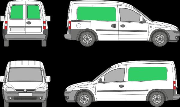 Opel Combo L1H1 (2001-2010)