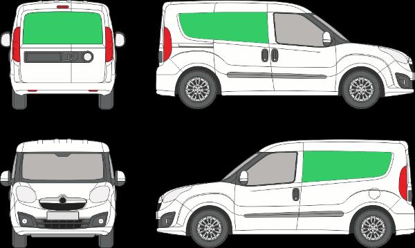 Opel Combo L1H1 (2011-2017)