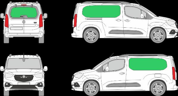 Opel Combo L1H1 (2018-2021)