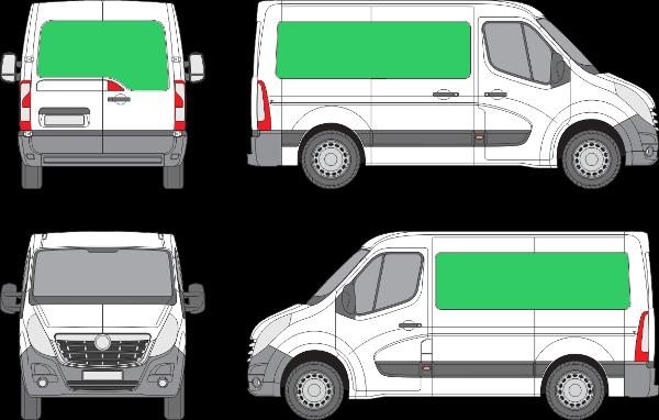 Opel Movano L1H1 (2010-2021)