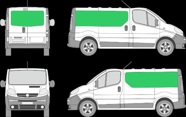 Opel Vivaro L1H1 (2001-2013)