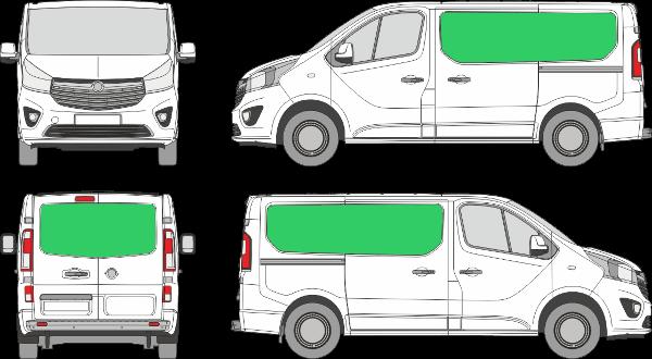 Opel Vivaro L1H1 (2014-2019)
