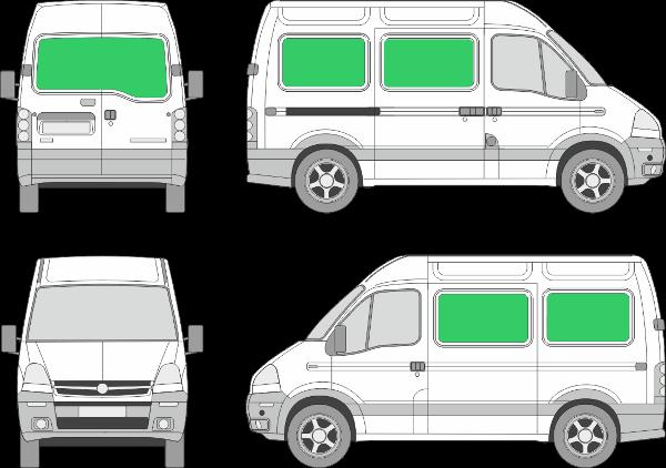 Opel Movano L1H2 (1999-2009)