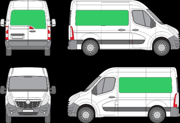Opel Movano L1H2 (2010-2021)