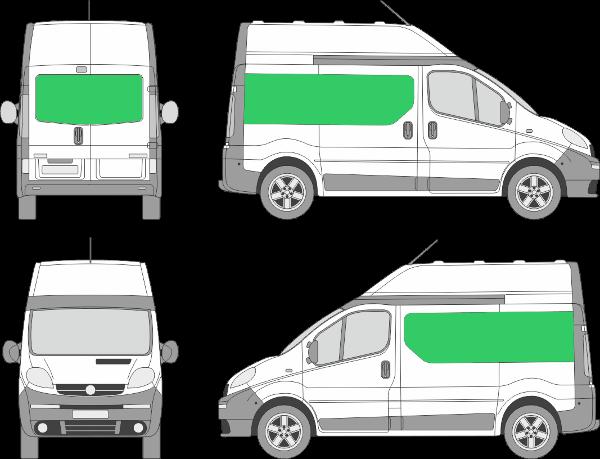 Opel Vivaro L1H2 (2001-2013)
