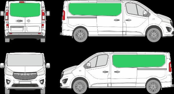 Opel Vivaro L2H1 (2014-2019)