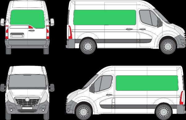 Opel Movano L2H2 (2010-2021)