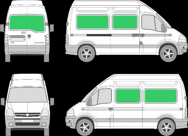 Opel Movano L2H3 (1999-2009)