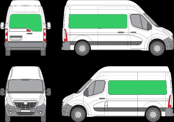 Opel Movano L2H3 (2010-2021)